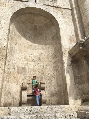 Enjoying the sights in Ascoli Piceno