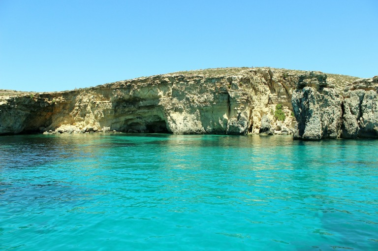 Coastline of Gozo