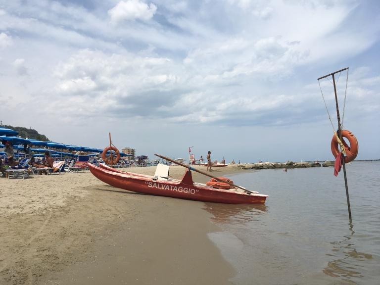 life boat, Grottammare