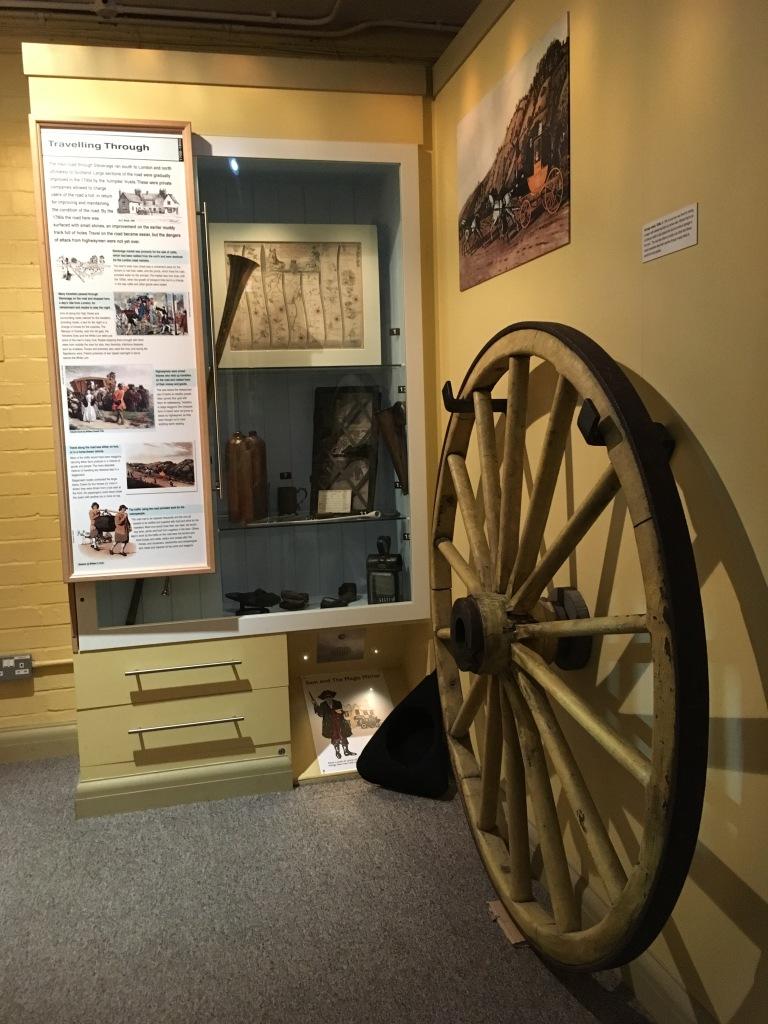 Highwayman history at Stevenage Museum